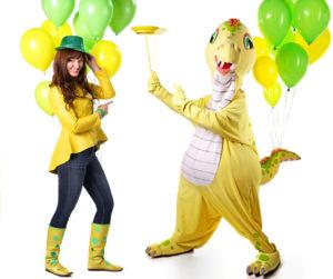 Alenka in Dino
