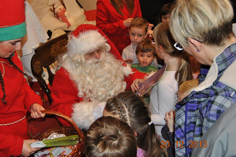 Božiček s spremljajočim programom